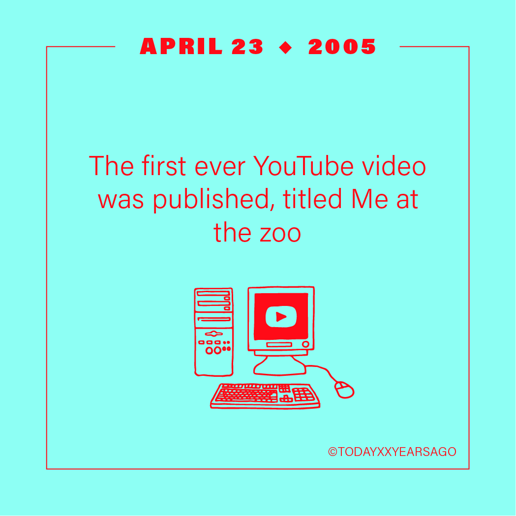 April 23 First Youtube Video Me at the Zoo