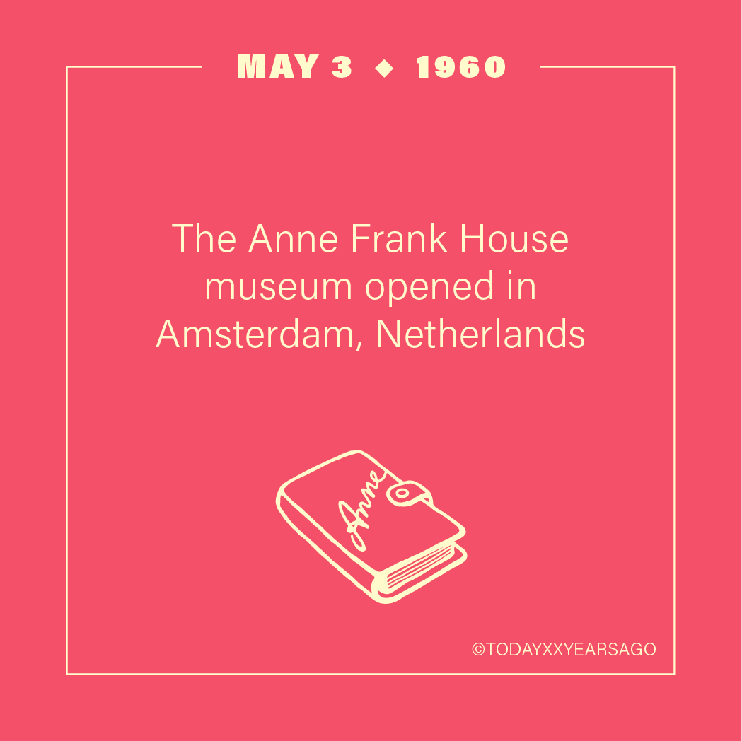 May 3 Anne Frank House Museum Amsterdam