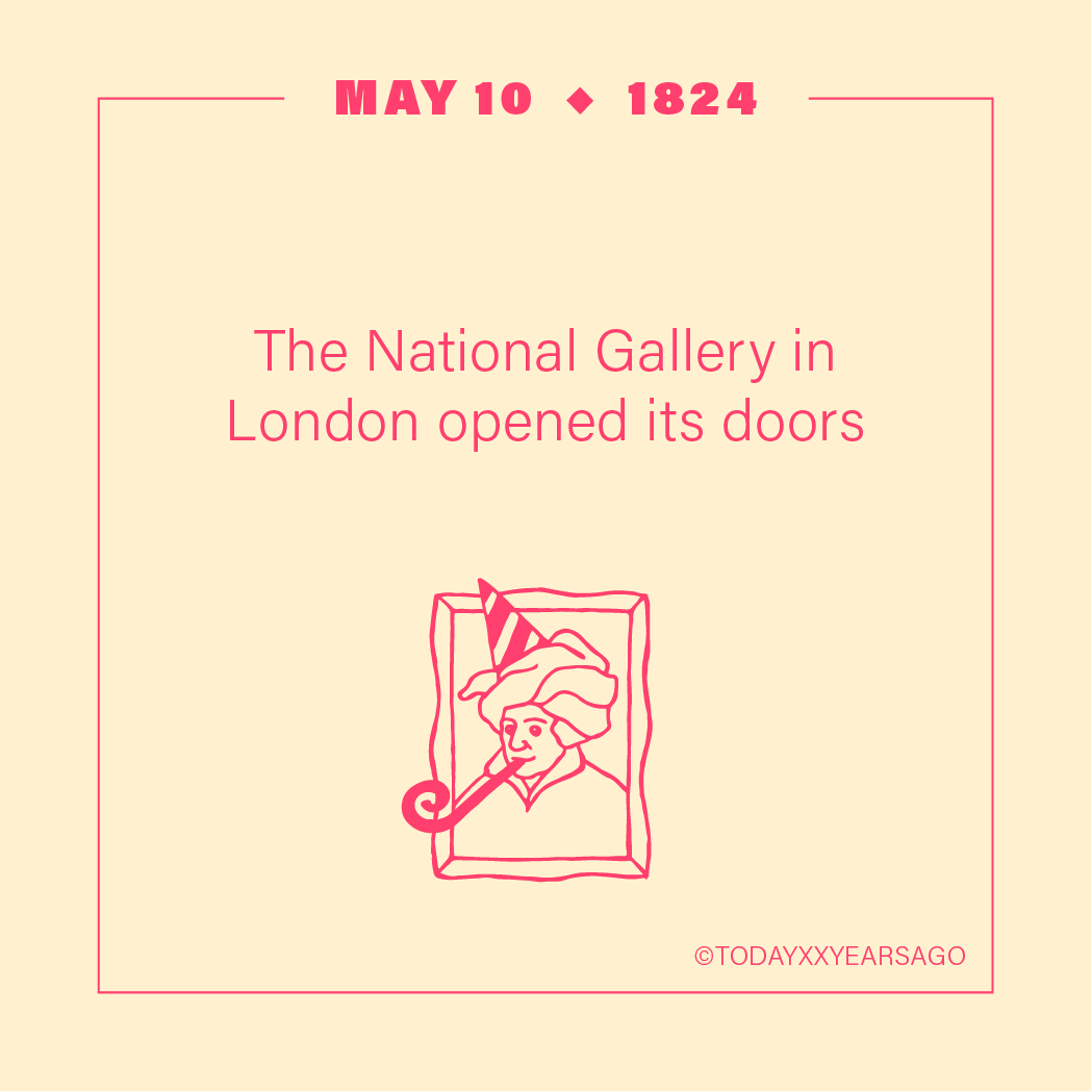 May 10 The National Gallery London