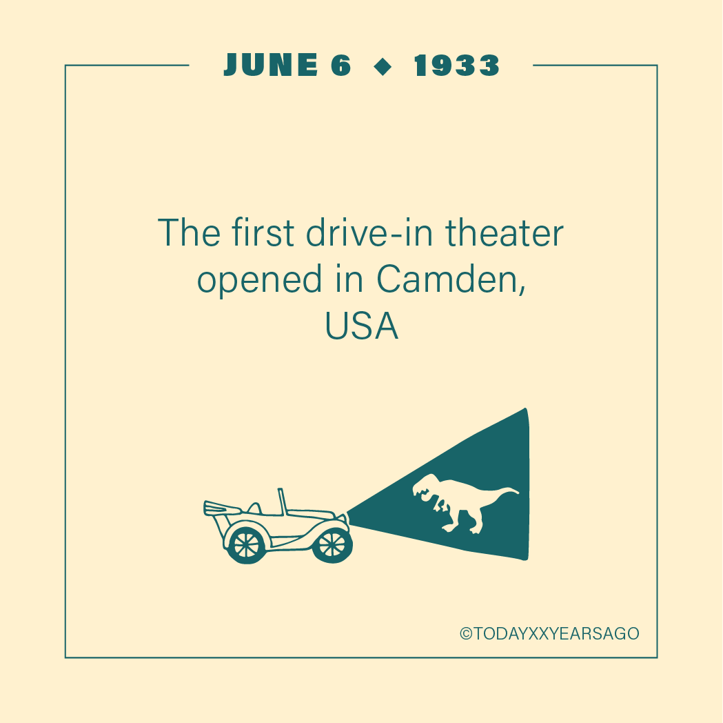 First Drive in Theatre Camden