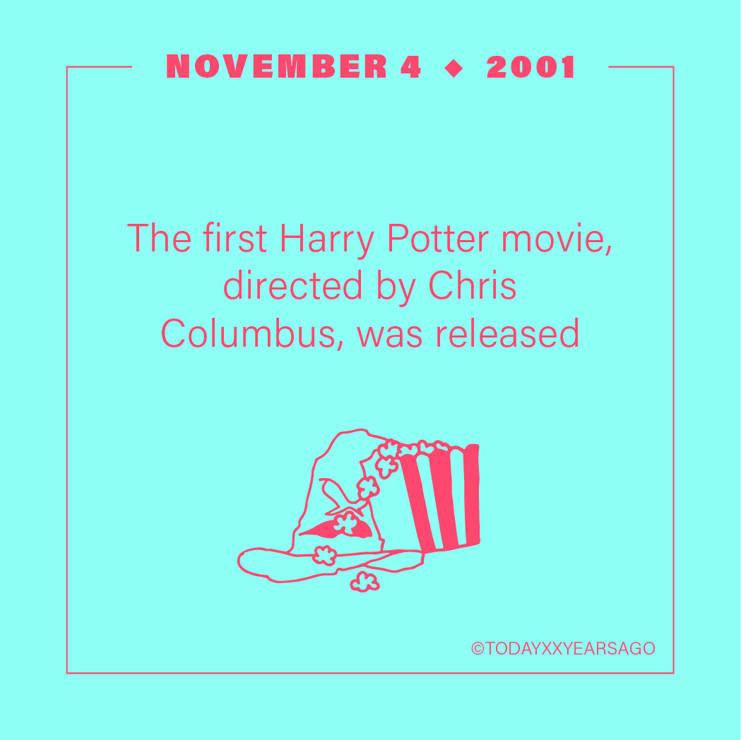 First Harry Potter Movie Release
