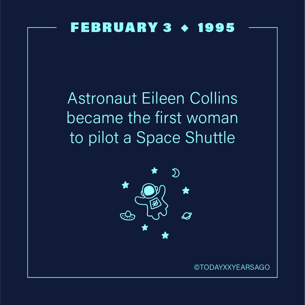 Astronaut Eileen Collins Became First Woman to Pilot a Space Shuttle