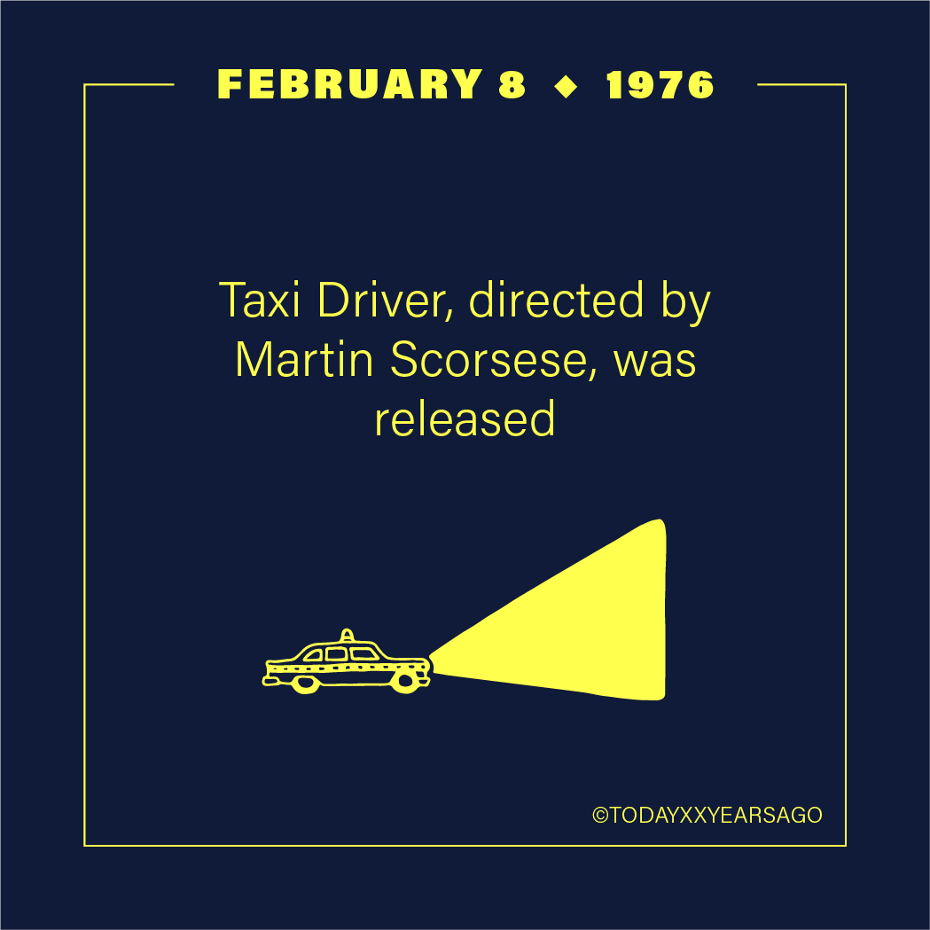 Taxi Drivers Directed By Martin Scorsese Release