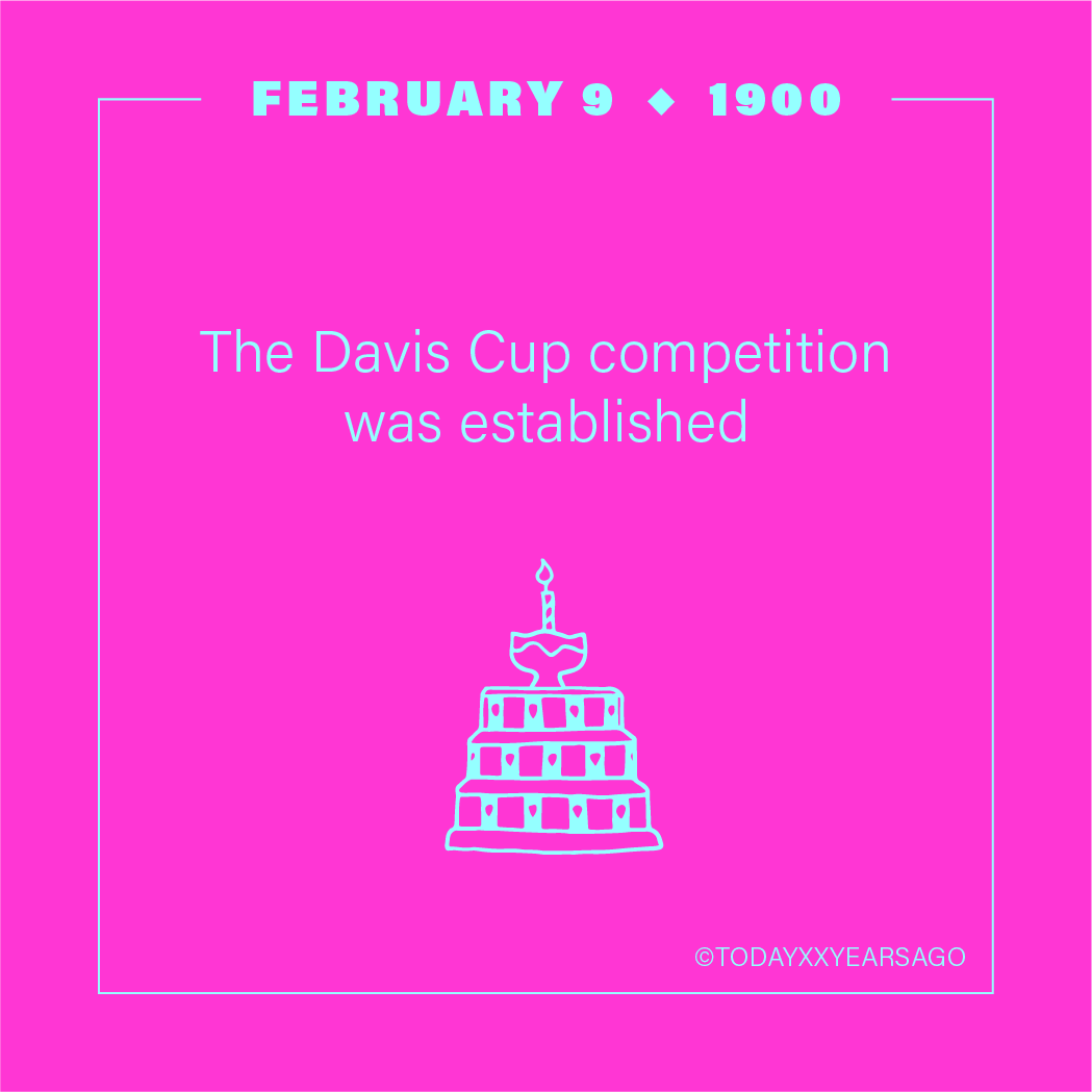 The Davis Cup Competition Was Established