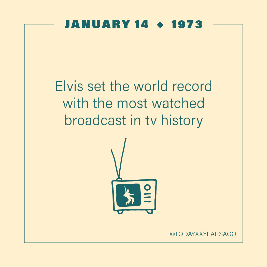 Elvis Set World Record Most Watched Broadcast in TV History