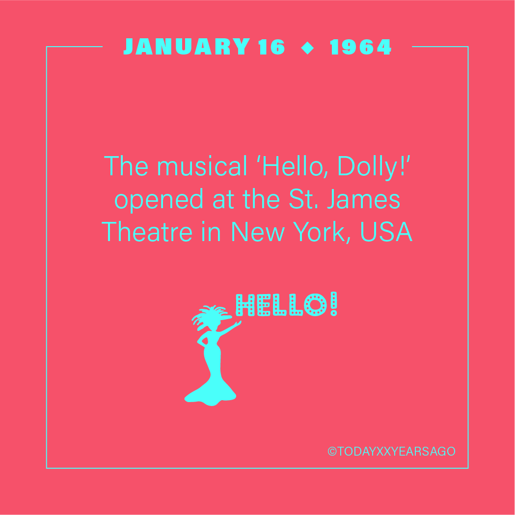 Musical Hello Dolly Opening St James Theatre New York