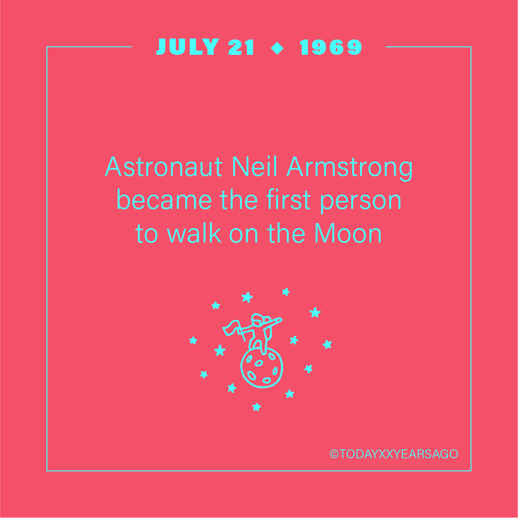 Astronaut Neil Armstrong Became First Person To Walk on the Moon